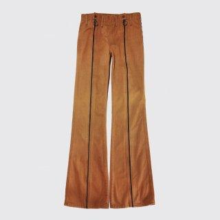 vintage center zipped flare jeans