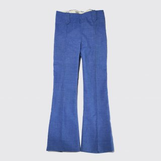 vintage western flare trousers