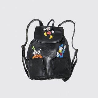 vintage disney leather backpack