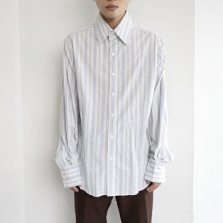 old broiderie stripe shirt