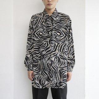 old animal pattern shirt
