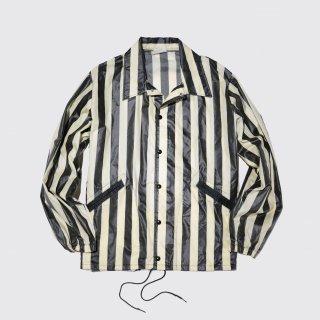 vintage coating stripe jacket
