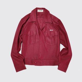 vintage poly aviator jacket