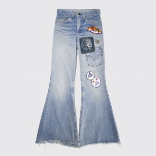 vintage levi's 684-bige custom flare jeans