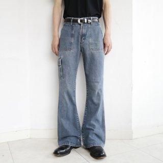 old bush flare jeans