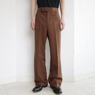 vintage lacoste flare trousers