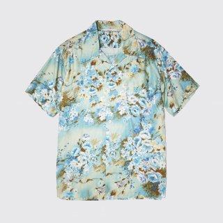 vintage flower hawaiian shirt
