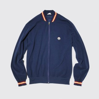 vintage swiss jersey track jacket