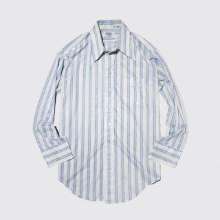 vintage stripe poly sheer shirt