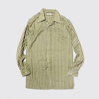vintage stripe l/s shirt