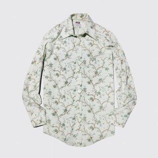 vintage montgomery ward flower l/s shirt