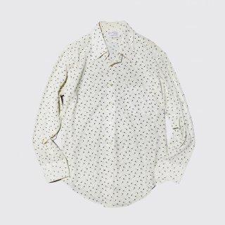 vintage arrow poly sheer shirt