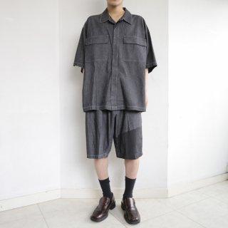 old dungaree h/s shorts set up