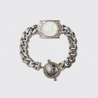 old gianni versace medusa metal bracelet