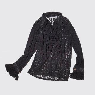 vintage fril lace shirt