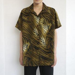 [30%OFF]old animal pattern h/s shirt