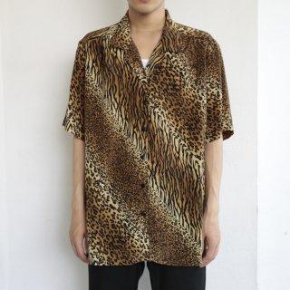 old bias animal pattern h/s shirt