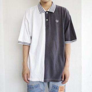 old fred perry half and half polo h/s