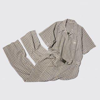 vintage bill parry check h/s jumpsuits