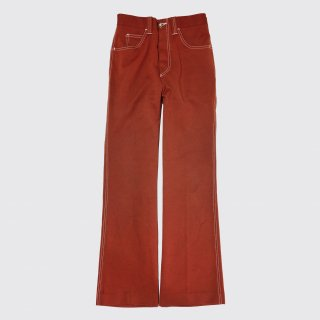 vintage levi's panatela flare poly trousers