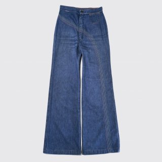 vintage wrangler broiderie wide jeans