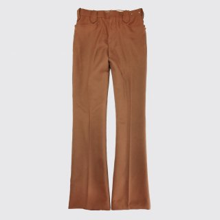 vintage hbarc western flare poly trousers
