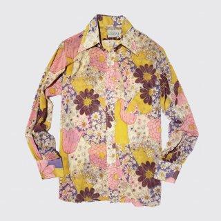 vintage arrow flower shirt