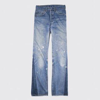 vintage levi's501-selvedge custom jeans