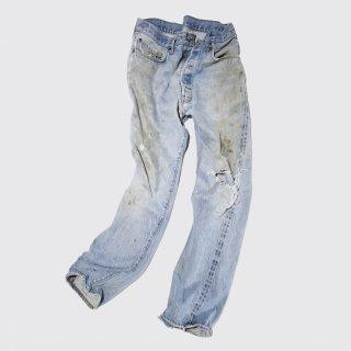 vintage levi's501-66e broken jeans
