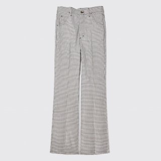 vintage lee houndstooth flare trousers