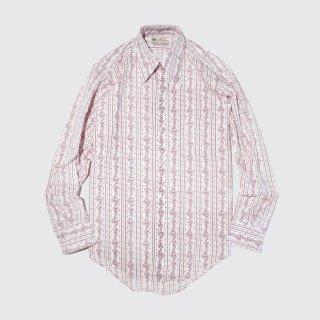 [40%OFF]vintage paisley stripe shirt