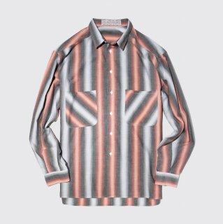 vintage shadow stripe shirt