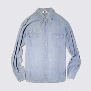 vintage coors paint dungaree shirt
