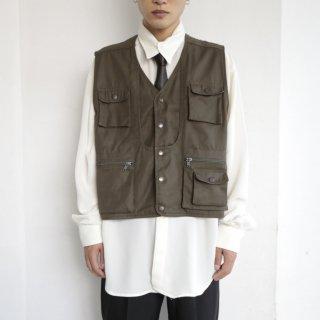 old utility cotton vest
