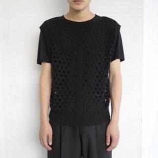 old mesh knit vest