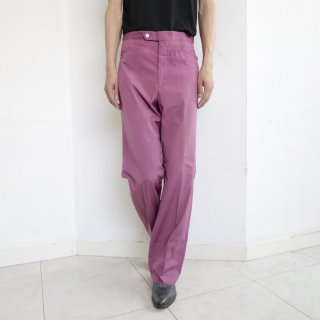 vintage straight cotton trousers