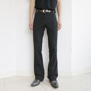 old corded stretch flare trousers