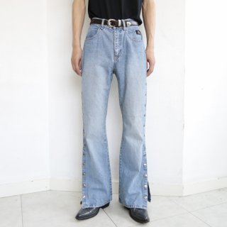 old harley davidson side snap jeans