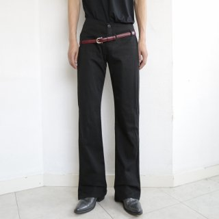 old slanting cotton trousers