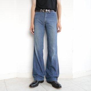[30%OFF]vintage seam flare jeans