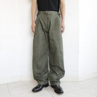 vintage french military trousers