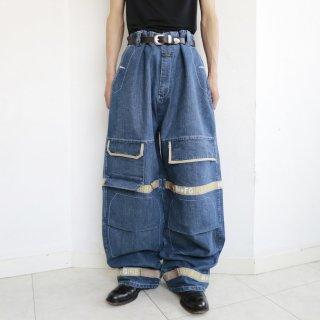 old marithé + françois girbaud shuttle buggy jeans , resized