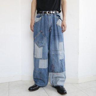old repair custom buggy jeans