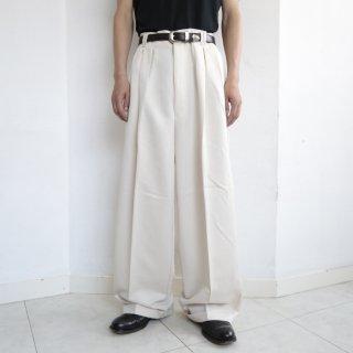 old tuck wide slacks