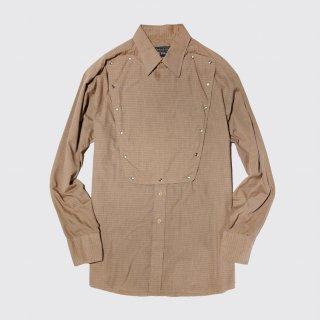 vintage check cavalry shirt