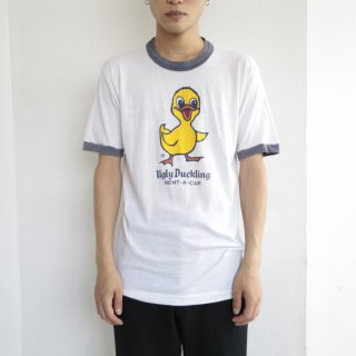 80's ugly duckling ringer tee , body-signal