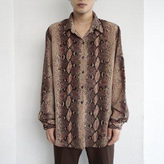old python l/s shirt