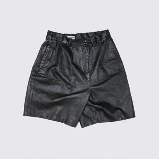 vintage leather shorts