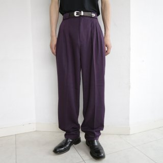old 3tuck tapered slacks
