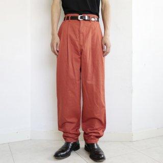 old high waist chino slacks